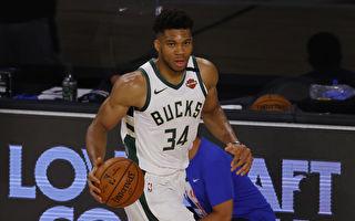 NBA雄鹿前鋒「字母哥」蟬聯常規賽MVP