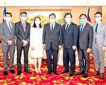 馬來西亞代表拜會鄭文燦  邀請參與線上論壇