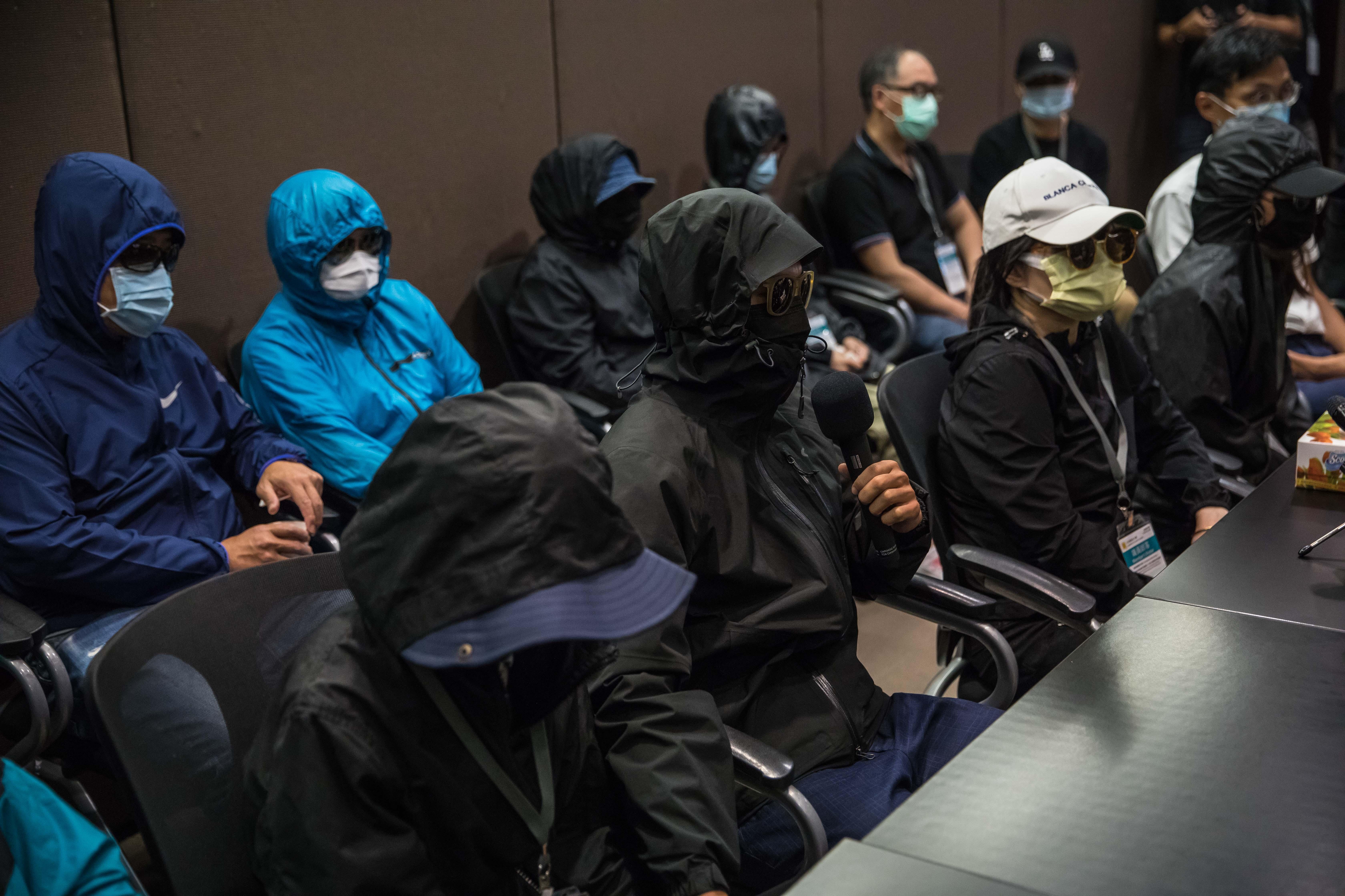 白宮聯署釋放12港青達標 台律師籲關注港人權
