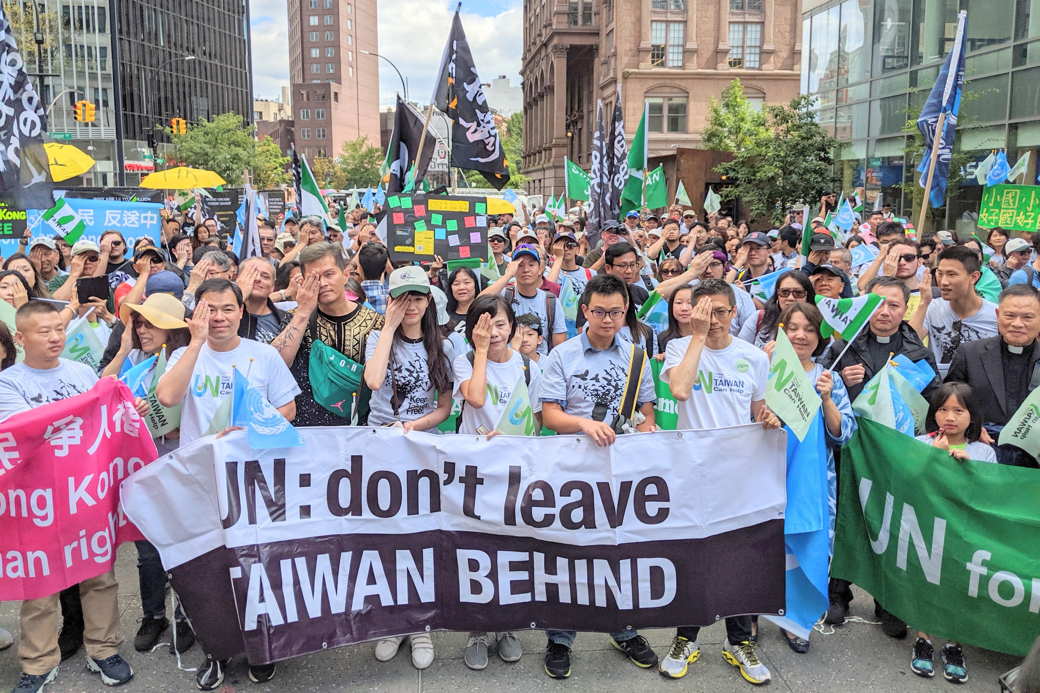 台灣防疫成績亮眼 大紐約區21社團力挺入聯合國
