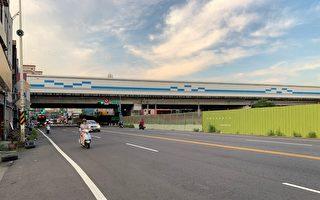 捷运绿线八德区介寿路一段21日围篱布设施工