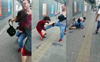 【视频】山东访民母子被抓 10岁病儿被拘禁