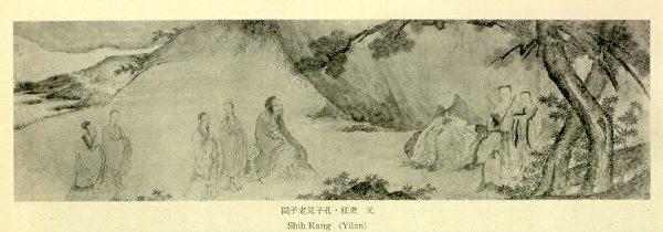 孔子問道圖(公有領域)