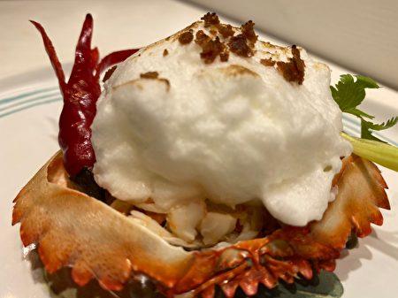 蘇州螃蟹佳餚,雪花蟹斗。