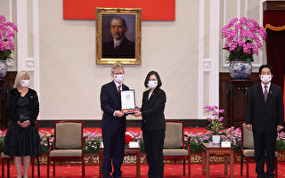 接见捷克议长 蔡英文:公理正义迟早会到