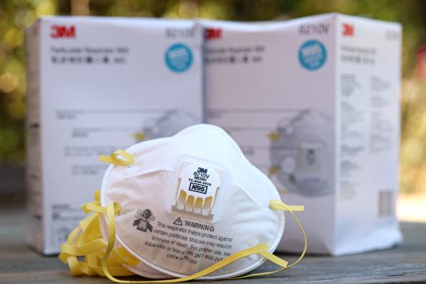 備戰火災季節 灣區商店提前屯N95口罩