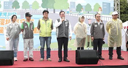桃園市長鄭文燦表示,桃園市共有66隊水環境河川巡守隊。