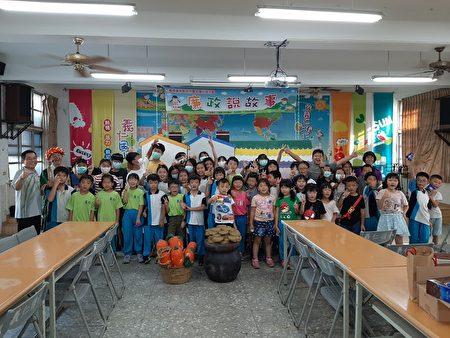 小茶壶儿童剧团在义仁国小的廉政说故事留下的足迹。