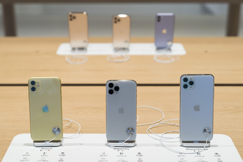 蘋果向多家供應商發出通知,將15%至30%的生產線撤出大陸。(Tomohiro Ohsumi/Getty Images)