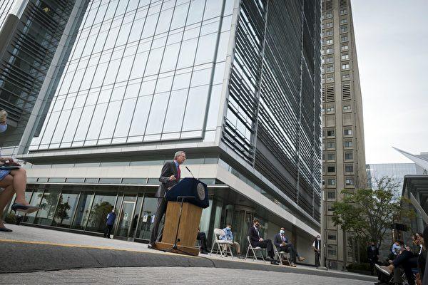 """纽约市""""疫情反应实验室""""每日可处理2万检测"""