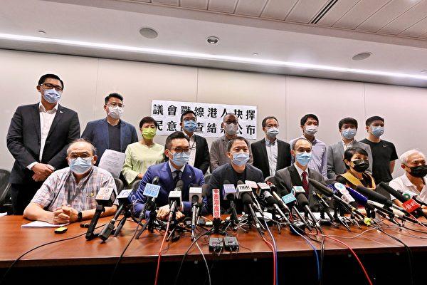 民調出爐 21名香港民主派議員留任立會抗暴政