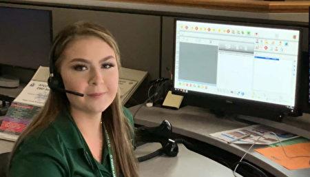 美國21歲911調度員1小時內挽救兩條生命