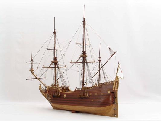 福祿特帆船模型。(Michael Czytko/維基百科)