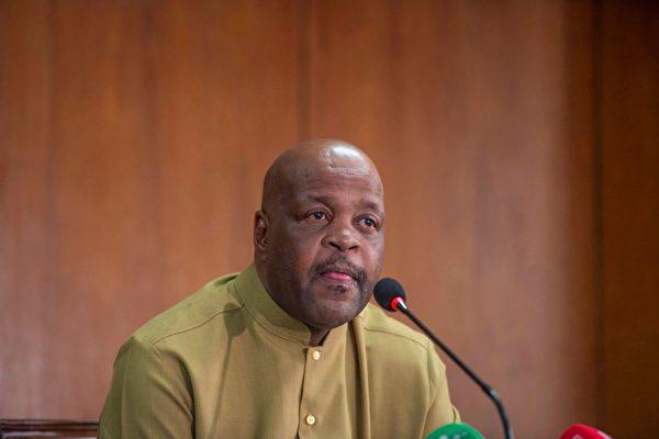 國際刑事法院司法科主任法基索・莫喬喬科(Phakiso Mochochoko)。(Photo by MUNIR UZ ZAMAN/AFP via Getty Images)