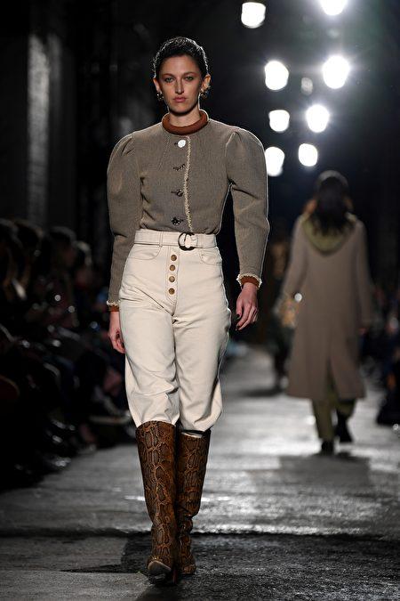Rejina Pyo於2020年倫敦時裝周。 (DANIEL LEAL-OLIVAS/Getty Images)