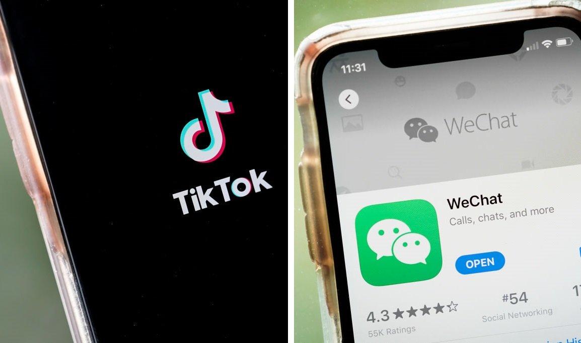 美宣佈微信和TikTok禁令細則 周日生效
