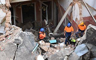 组图:黎巴嫩大爆炸1个月 废墟中现生命迹象