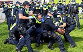 維州警察鎮壓反封鎖抗議活動 引爭議