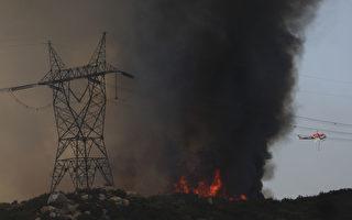美西野火帶來危險煙霧 目前空氣質量全球最差