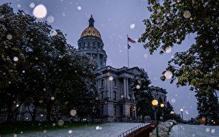 組圖:劇烈天氣變化 美國科羅拉多州突降雪