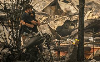 【组图】美西35人葬身火海 消防员失去了家