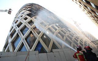 組圖:一週三次 黎巴嫩首都再度起火