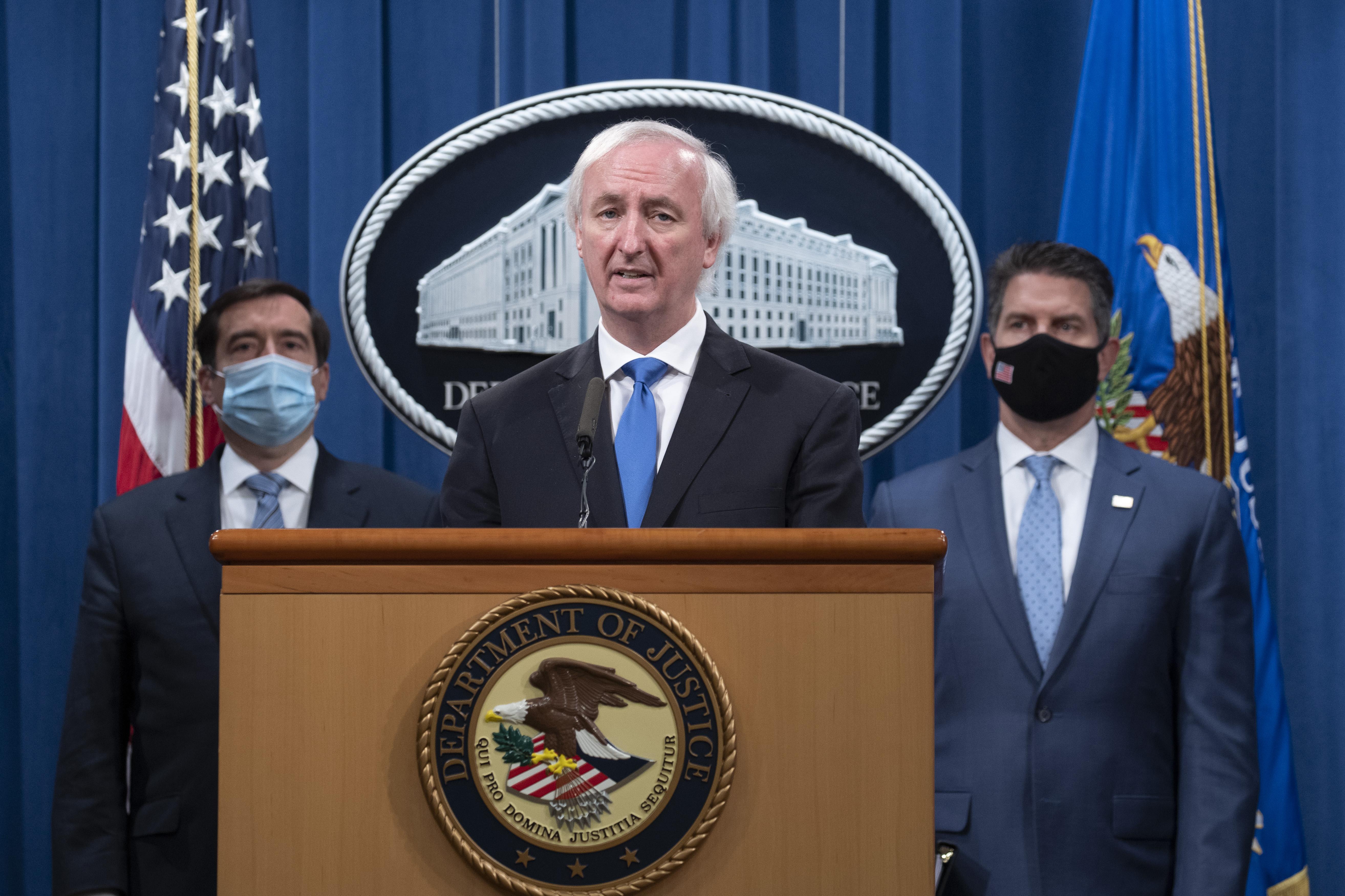 美國司法部宣佈起訴和逮捕中共黑客