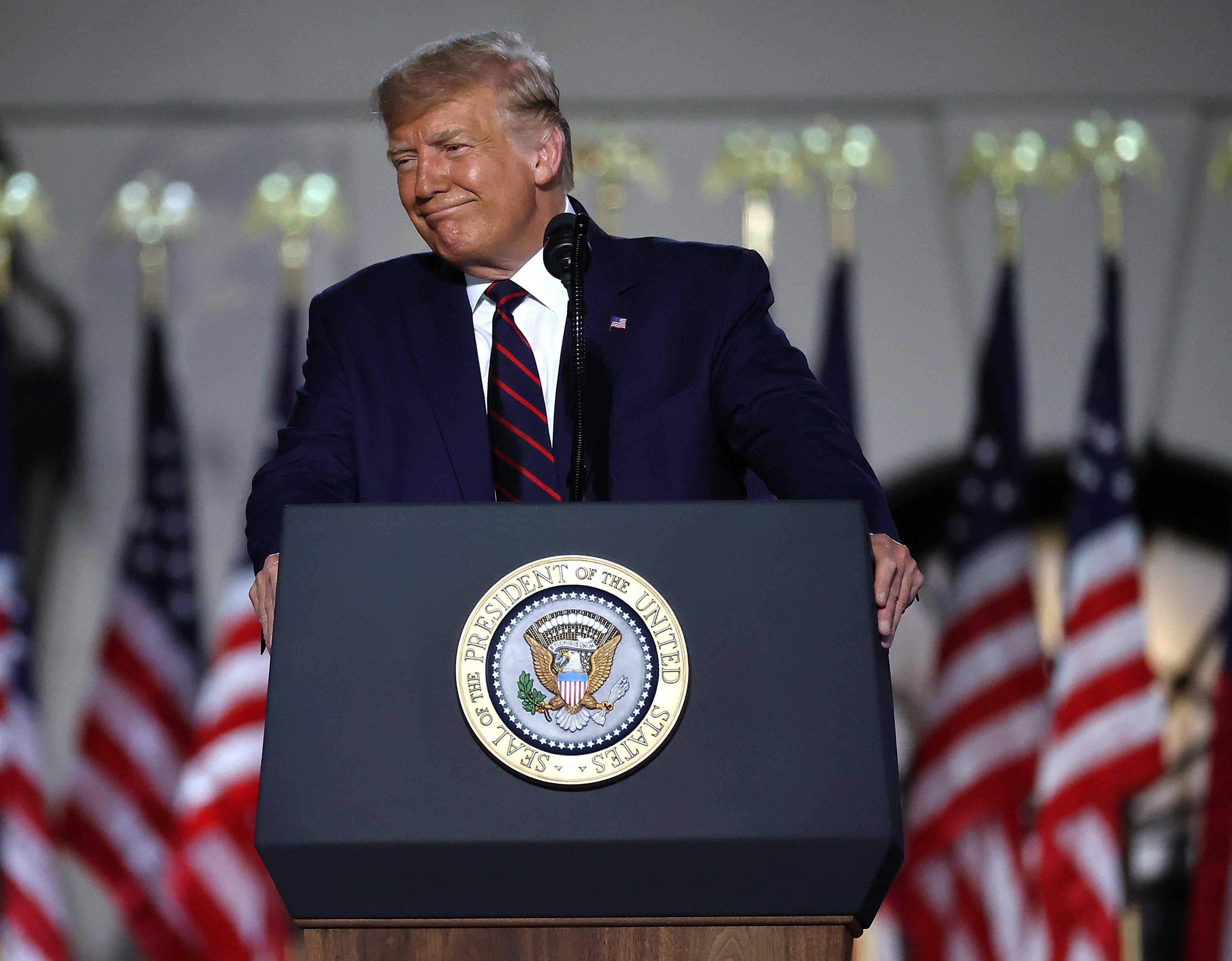 民調:共和黨全國大會後 特朗普支持率過半