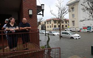 萨利飓风登陆阿拉巴马 带来大雨和洪水