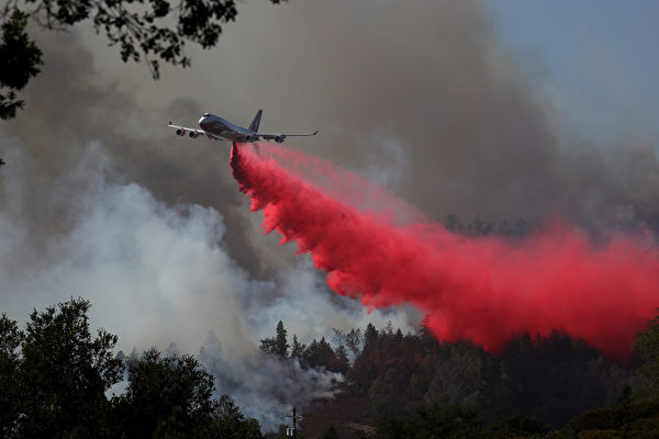 納帕縣野火迅猛 一天內延燒數千英畝