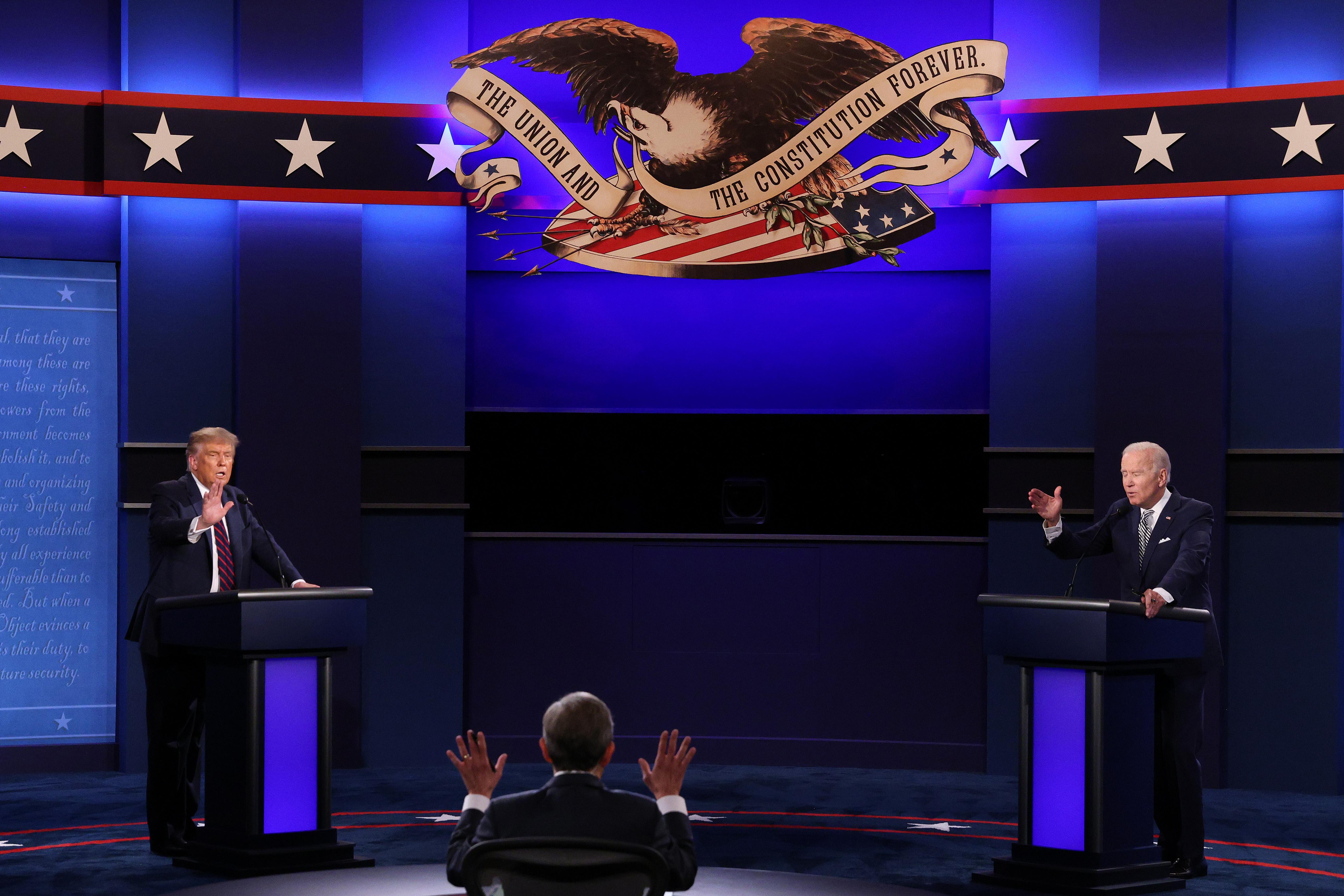 特朗普競選團隊:辯論委員會挑的主題偏拜登