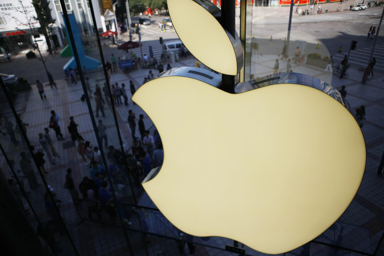 三星、微軟和摩托羅拉等公司正在競相嘗試推出可折疊智能手機,但蘋果遲遲沒有行動。(VCG/VCG via Getty Images)
