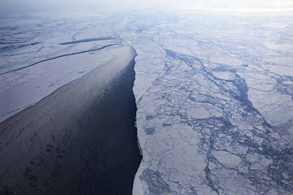 持續融化 北極海冰覆蓋面積降至史上次低