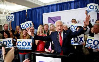 約翰‧考克斯準備2022再挑戰加州州長紐森
