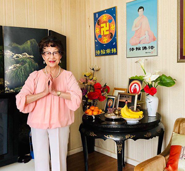 墨爾本法輪功學員Grace Cheng祝願李洪志師父中秋快樂。(本人提供)