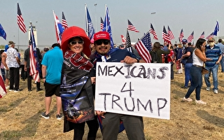 川普造访加州 支持者:他是奉神意在拯救美国
