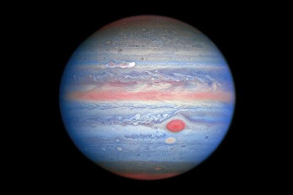 NASA公布更多木星新風暴細節