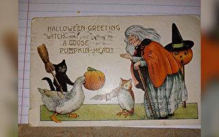 一百年前寄出 美国女士收到一张神秘明信片