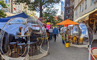 天渐冷 曼哈顿气泡餐馆受欢迎