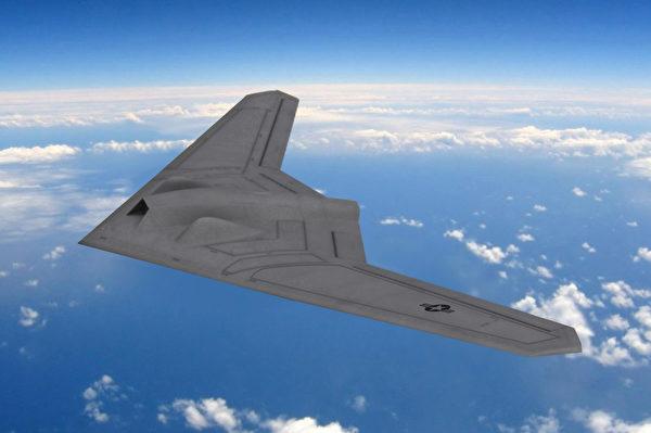 RQ-170哨兵(Sentinel)隱形無人機效果圖,美國目前沒有公開。(FOX 52/維基百科)