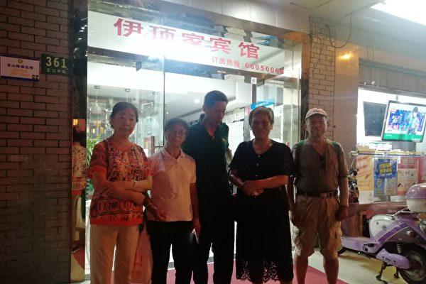 """上海警察称""""访民是要关的""""令访民错愕"""