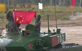 國際軍事賽共軍出糗 國旗拿反 炮手暈倒