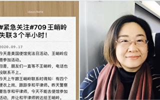 受邀参加美使馆活动 709律师妻一度遭中共绑架