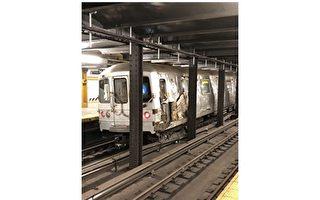 向地铁扔建筑垃圾导致车厢脱轨者被捕