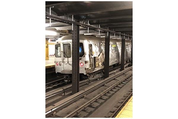 向地鐵扔建築垃圾導致車廂脫軌者被捕