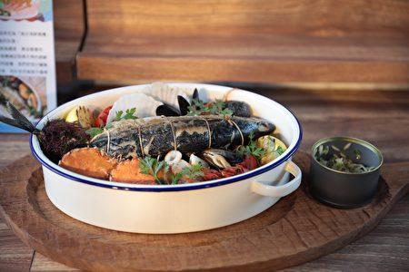 基隆渔夫锅展现巧思与鲜味。