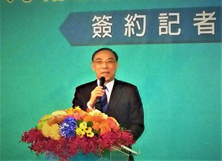 法务部长蔡清祥表示,医学中心加入后,将提升台湾法医鉴定水准,也更符合世界潮流。