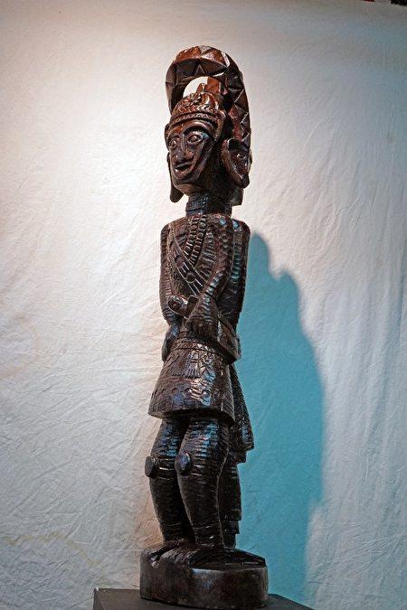 貳獎「傳承」,由來義鄉古樓村的葉德青所創作。