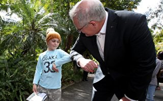 总理莫里森访南澳 强调应对危机需要耐心