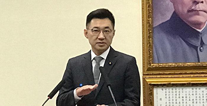 江啟臣呼籲蔡英文 兌現立院國情咨文